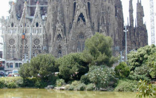 Les photos de la Sagrada familia